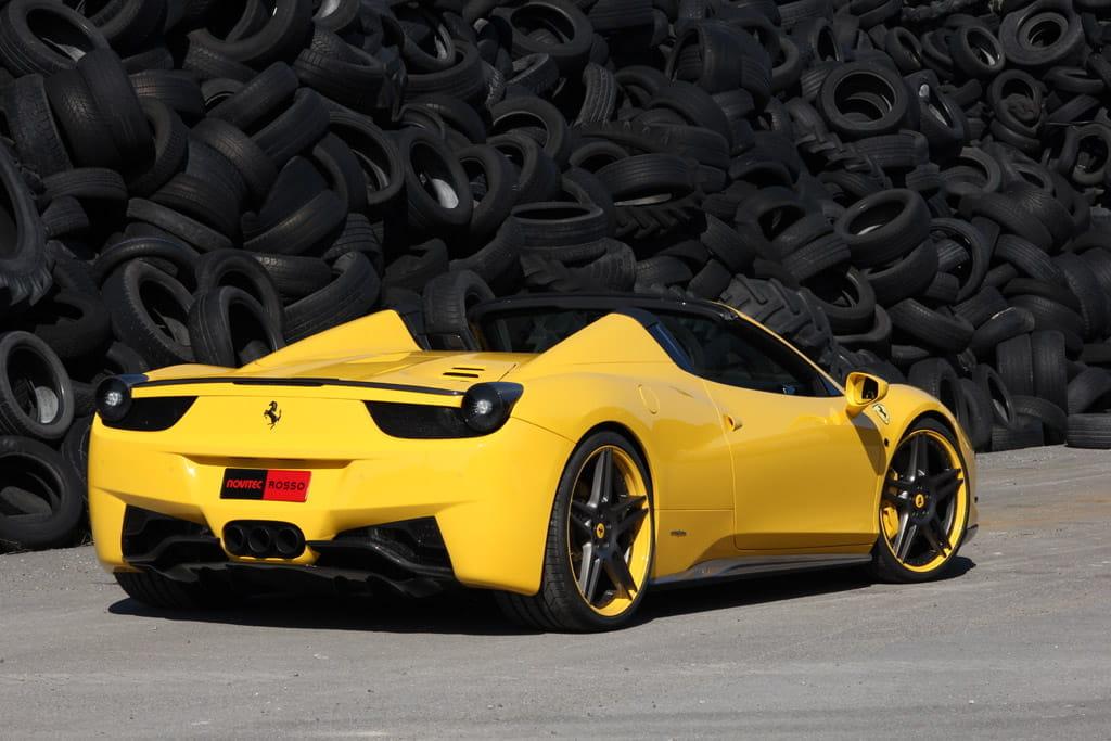 Ferrari 458 Spider Novitec Rosso