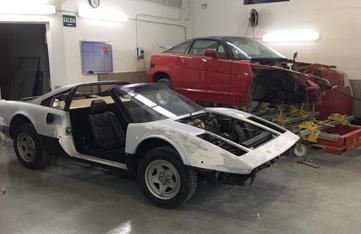Restauración Ferrari