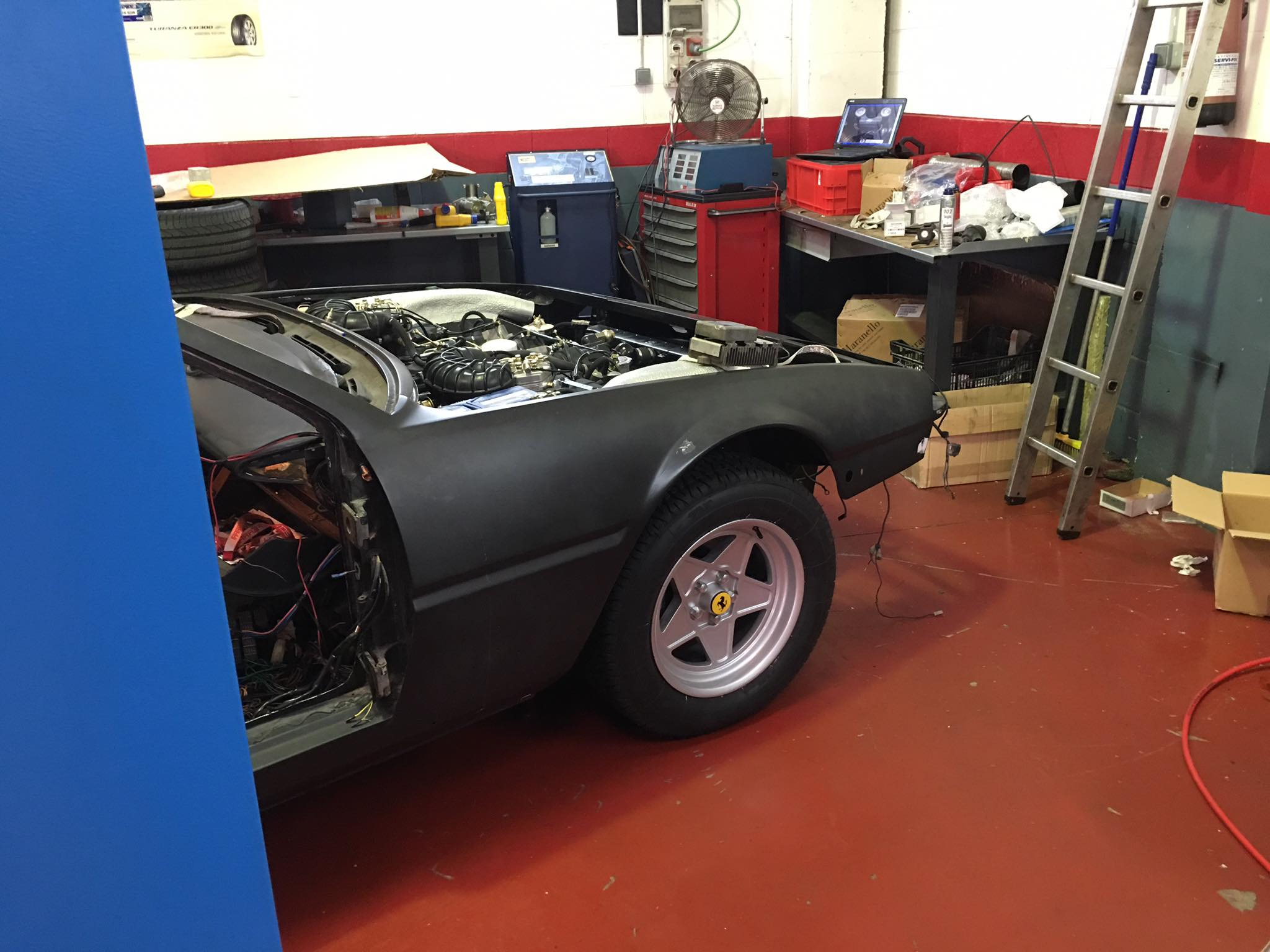 Ferrari 400i manual del 82