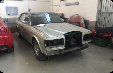Restauración Rolls Royce