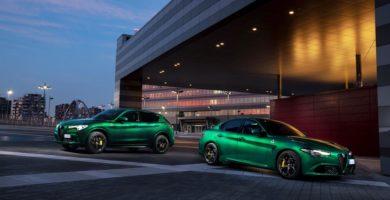 Alfa Romeo Giulia y Stelvio QV 2020 MY